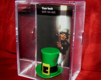 """Leprechaun Is Back!!! Hat Display...Ready for Action!...Hat can come out....""""""""Leprechaun Gold"""""""""""