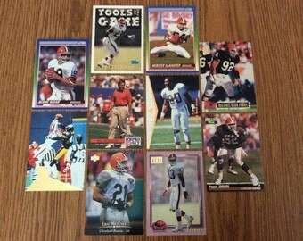 50 Cleveland Browns Football Cards
