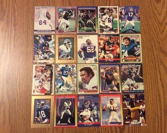 100 New York Giants Football Cards