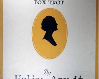 "1922 Sheet Music, ""Nola"" Fox Trot"