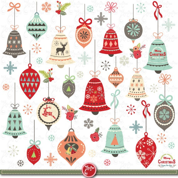 Christmas clip art CHRISTMAS ORNAMENT Clipart