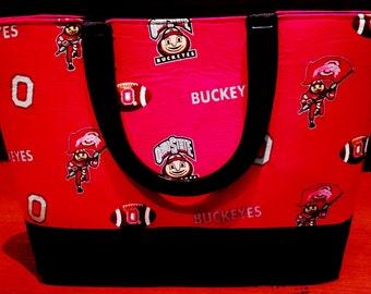 Ohio State Buckeyes Red Handbag
