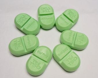 10 CHILL PILL{Favors} - Nurse Favor / Party Favor / Take a Chill Pill