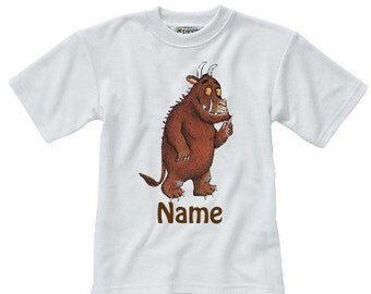 Personalised The Gruffalo T-Shirt - Named - Adults & Children
