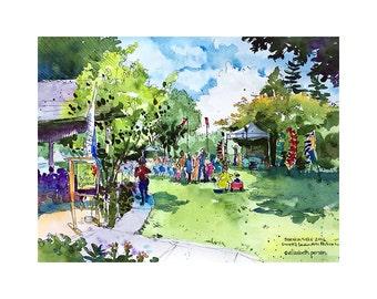 Sorticulture  /// Sketchy Everett Series