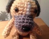 Miniature Crochet Border Terrier