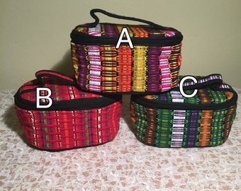 Guatemalan Oval shaped Cosmetic Bag