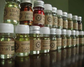 60 Scents Fragrance Oils  Essential Spa Soap Candle Bottle Size 5 ml