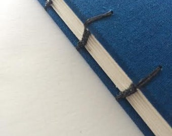 Blue Linen Sketchbook