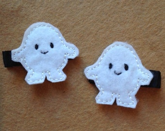 Adipose inspired hair clips - hair accessories - barrettes