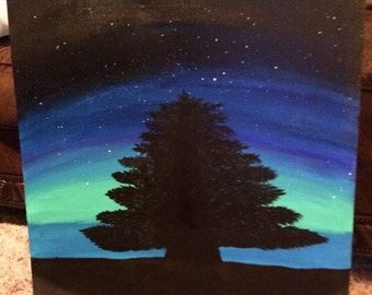Night Tree 18x24