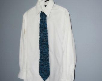Handmade Men's Crochet Tie