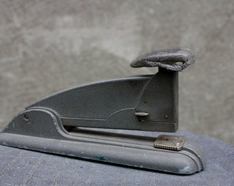Vintage Swingline Gray Stapler No.4, Made in USA