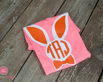Easter Shirt, Personalized Easter Shirt, Monogram Easter Shirt, Girl Easter Shirt