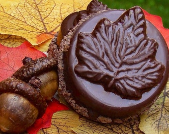 Fall Leaf Chocolate Covered Oreo Cookies ~ Wedding Party Favors ~ Rustic Wedding Favor Candy Chocolate Oreos ~ Unique Wedding Favor