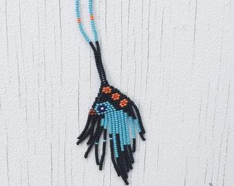 Southwestern beaded necklace