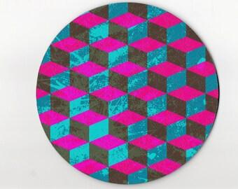 mouse pad / mousepad / geometric mouse pad / geometric mousepad