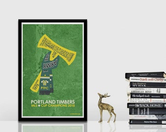 Portland Timbers Army Poster