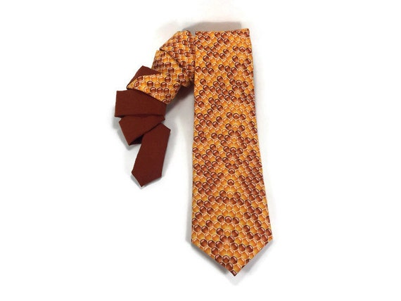 honey tie honeycomb tie deseret tie bee necktie spelling