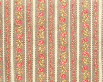ROSE pin stripe quilting fabric 4006-16