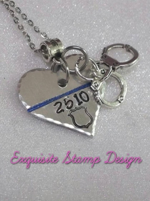 police wife gifts police officer gifts by exquisitestampdesign