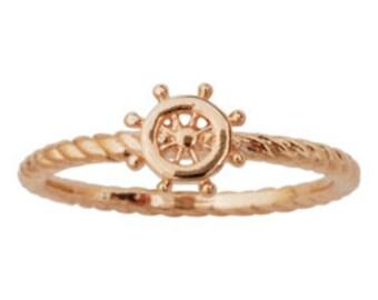 Fashion Ring - Ship Wheel