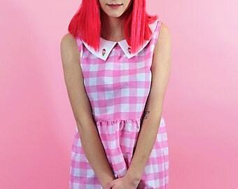 Ice Cream Collar Dress