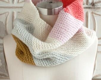 Yarn Knitting Kit to make Valley Green Inn Cowl