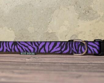 Ready to Ship - Purple Zebra - XL