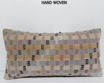 kilim pillow decorative kilim pillow lumbar pillow bohemian throw pillow couch pillow furniture pillow throw pillow couch pillow case 32195