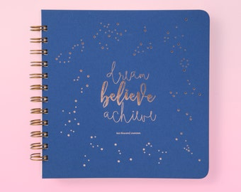 2017 Limited edition Letterpress Diary/Planner // makeforgood