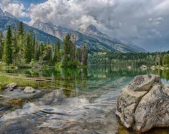 Landscape Photography - Storm Watch at Taggart Lake - Grand Teton National Park