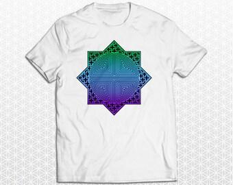 Octagonal Star Crop Circle