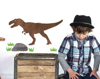 T-Rex Wall Decals Medium - Dinosaur Fabric Wall Decals
