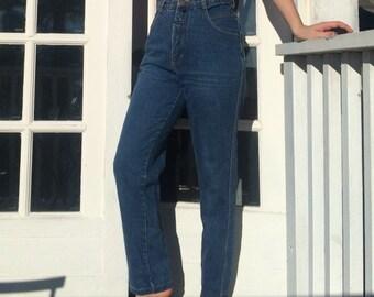 Vintage High Waisted Blue Jean