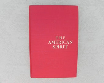 Vintage History, The American Spirit, Hardcover Book, 964 Pages