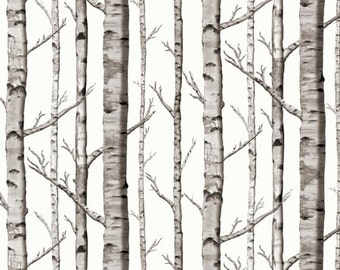 Crib Sheet Birch Trees. Fitted Crib Sheet. Baby Bedding. Crib Bedding. Minky Crib Sheet. Crib Sheets. Woodland Crib Sheet.