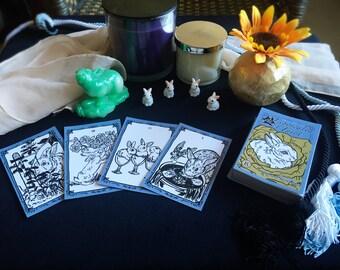 Leporcalia Tarot, Full Deck (78 cards)