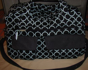 Weekender Travel Bag/ Temple Tote/ Diaper Bag