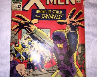 Marvel Comics, The X-Men #14 November 1965, First Appearance of The Sentinels, Very Good