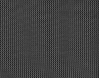 Cotton and Steel Basic Netorious Black Cat White Lines Fabric 5000-008 BTY 1 Yd