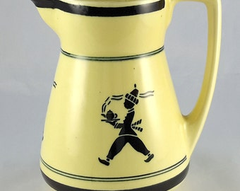 Silhouette Pitcher Creamer Meissen Germany