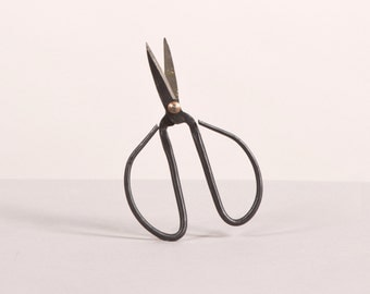 Vintage metallic scissors