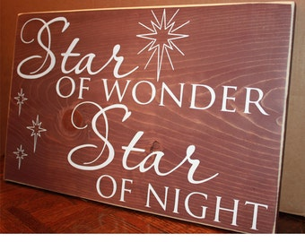 Star of Wonder Stained Back