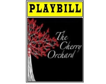 Theater / Show Charm - Playbill Play Bill - The Cherry Orchard