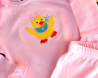 Baby Duck Infant Nightgown for Girl or Boy