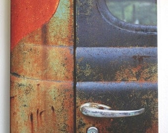 Rusty Truck Art Antique Chevrolet Original Photograph Tile Hangable