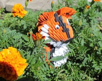 3D Origami Tiger