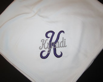 Personalized Baby Blanket - Monogrammed, Personalized Gifts, Personalized Baby Gifts, Baby Gift, Monogrammed Baby Blankets
