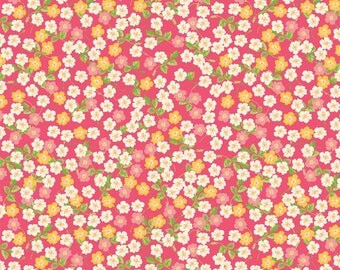 1 yard Floribella  by Emily Taylor  for Riley Blake Floral Pink